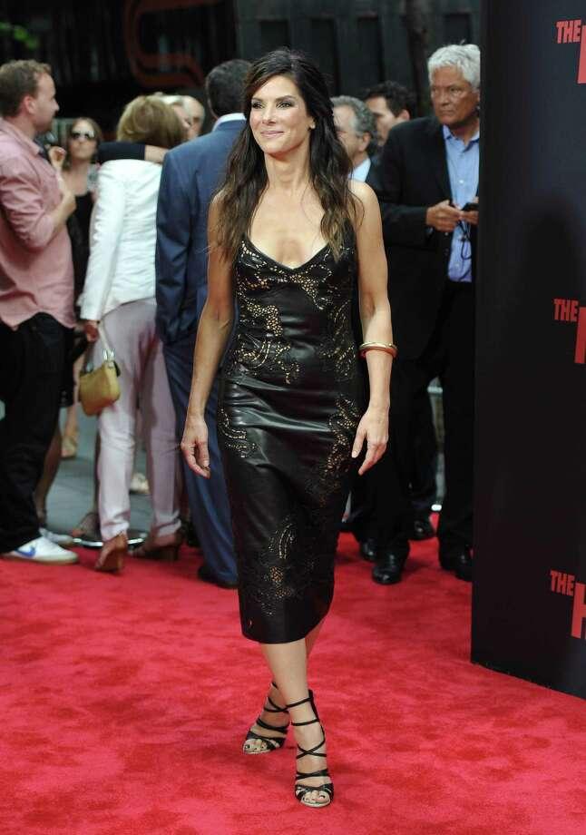 """Actress Sandra Bullock attends """"The Heat"""" premiere at the Ziegfeld Theatre on Sunday, June 23, 2013 in New York. Photo: Evan Agostini, Evan Agostini/Invision/AP / Invision"""
