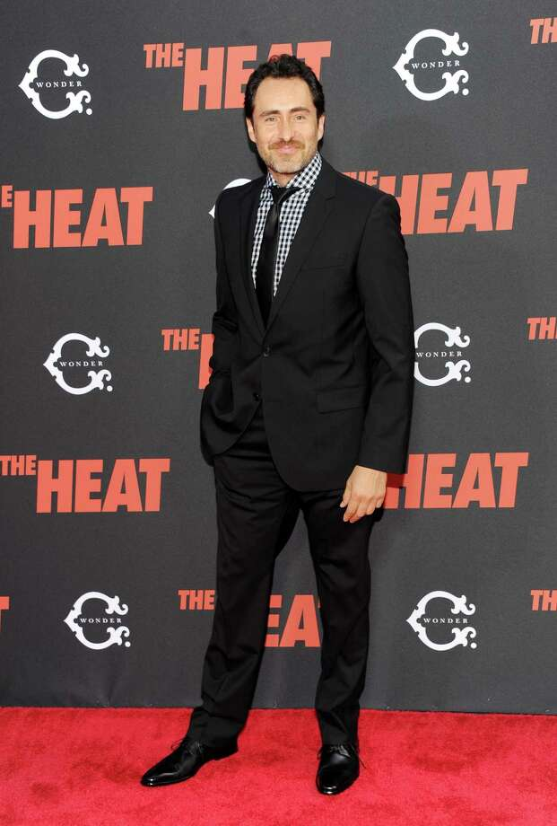 "Mexican actor Demián Bichir attends ""The Heat"" premiere at the Ziegfeld Theatre on Sunday, June 23, 2013 in New York. Photo: Evan Agostini, Evan Agostini/Invision/AP / Invision"