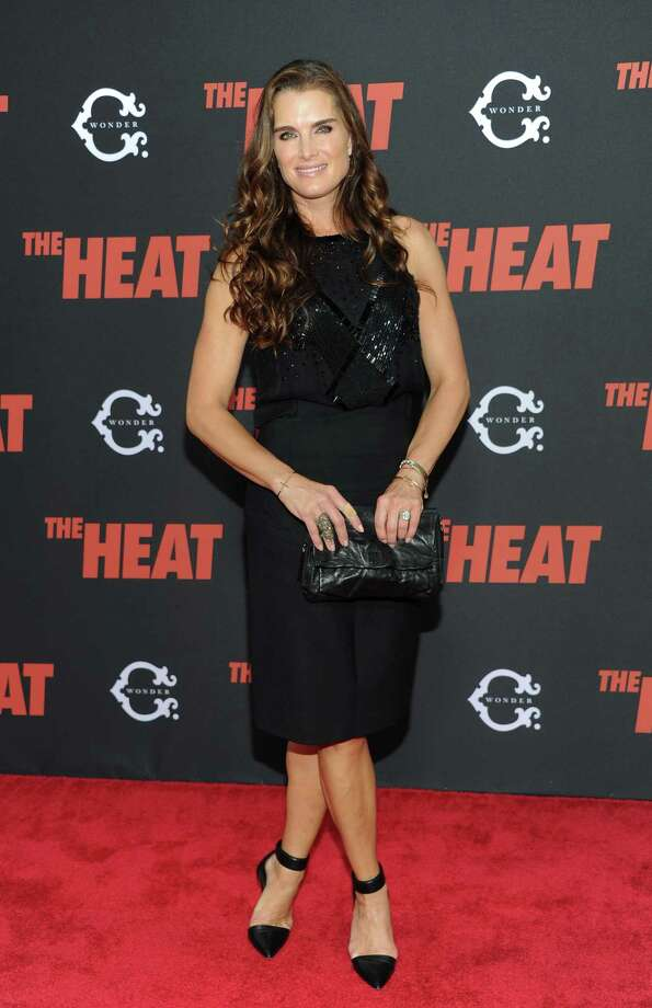 "Brooke Shields attends ""The Heat"" premiere at the Ziegfeld Theatre on Sunday, June 23, 2013 in New York. Photo: Evan Agostini, Evan Agostini/Invision/AP / Invision"