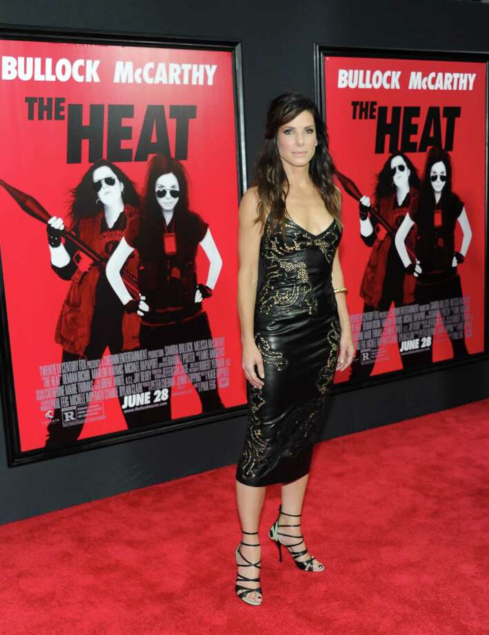 "Actress Sandra Bullock attends ""The Heat"" premiere at the Ziegfeld Theatre on Sunday, June 23, 2013 in New York. Photo: Evan Agostini, Evan Agostini/Invision/AP / Invision"
