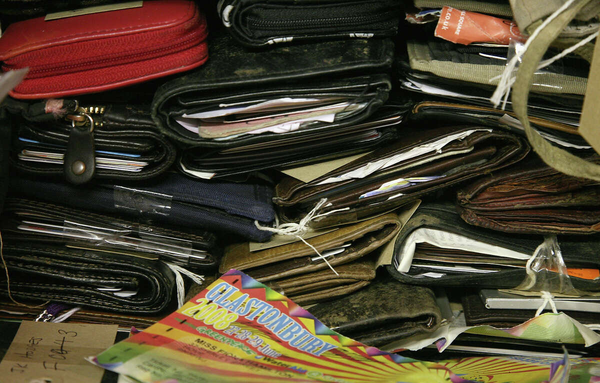 Wallets and purses are the most common items turned in.