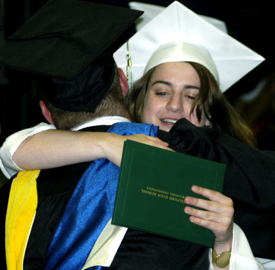New Milford High School's commencement exercises at the O'Neill Center on the campus of Western Connecticut State University in Danbury. June 22, 2013 Photo: Norm Cummings