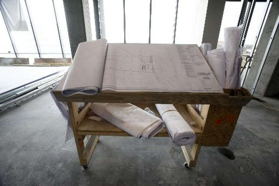 Plans for the new offices which will accommodate 1,550 workers. Photo: Eric Kayne