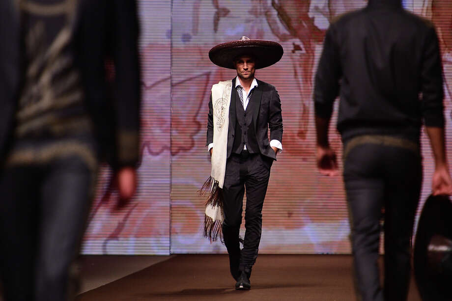 """The Urban Sombrero""From the Etro Menswear Spring-Summer 2014 collection. Photo: AFP, AFP/Getty Images / 2013 AFP"