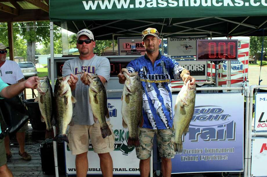 Chad Dyess and Michael Crawford came in 1st with a great bag of fish weighing in at 30.75 lbs.