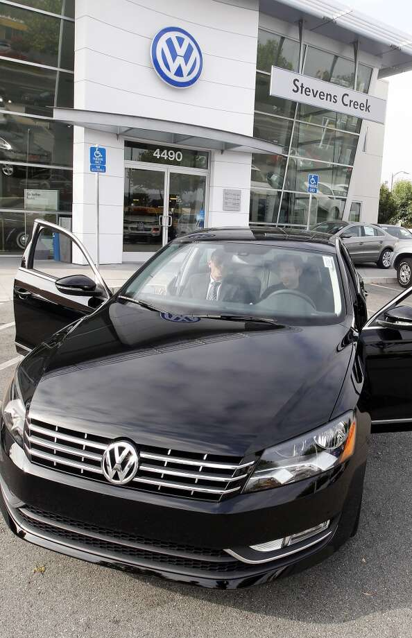 2013 Volkswagen  Passat    (Photo by Tony Avelar / The Christian Science Monitor via Getty Images)