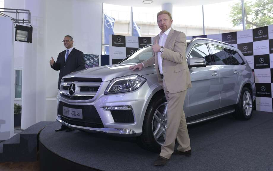 2013 Mercedes Benz GL   (Photo by Qamar Sibtain/India Today Group/Getty Images)