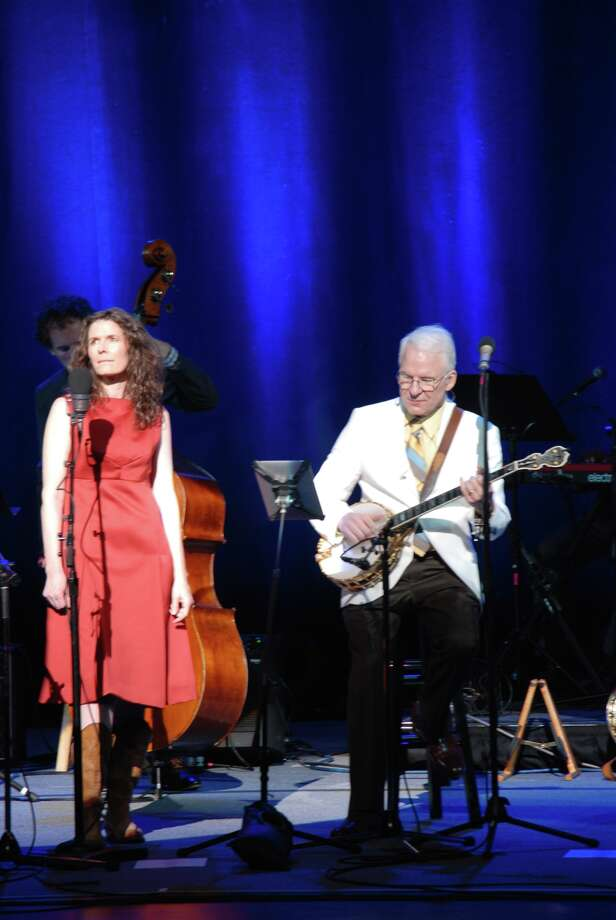 Steve Martin and The Steep Canyon Rangers, featuring Edie Brickell The Palace in Stamford June 21 Photo: Mike Spero / Hearst Connecticut Media Group