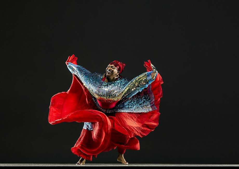 Colette Eloi of El Wah Movement Dance Theatre performs Saturday and Sunday as part of the San Francisco Ethnic Dance Festival. Photo: RJ Muna