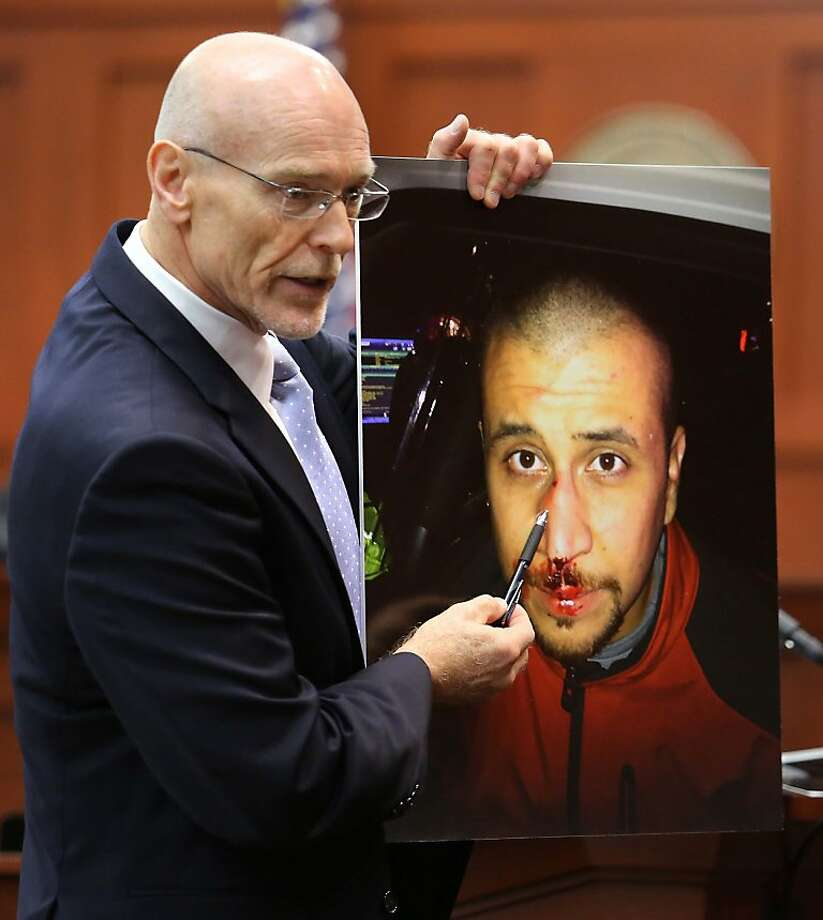 June 24, 2013 –Opening statements in the trial begin. (AP Photo/Orlando Sentinel, Joe Burbank/Pool) Photo: Joe Burbank, Associated Press