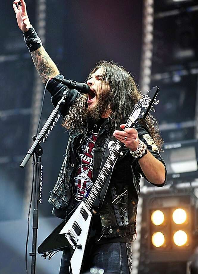 Machine Head founder Robb Flynn, who started the band in 1991, says he's taking song inspiration from tarot cards. Photo: Adrenaline PR