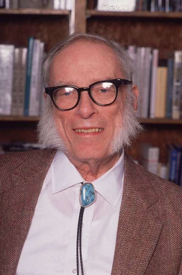 Science fiction author Isaac Asimov Photo: Frank Capri, Getty Images / Archive Photos
