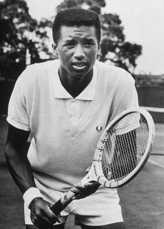 Tennis player Arthur Ashe Photo: Edward A. Hausner, Getty Images / Archive Photos