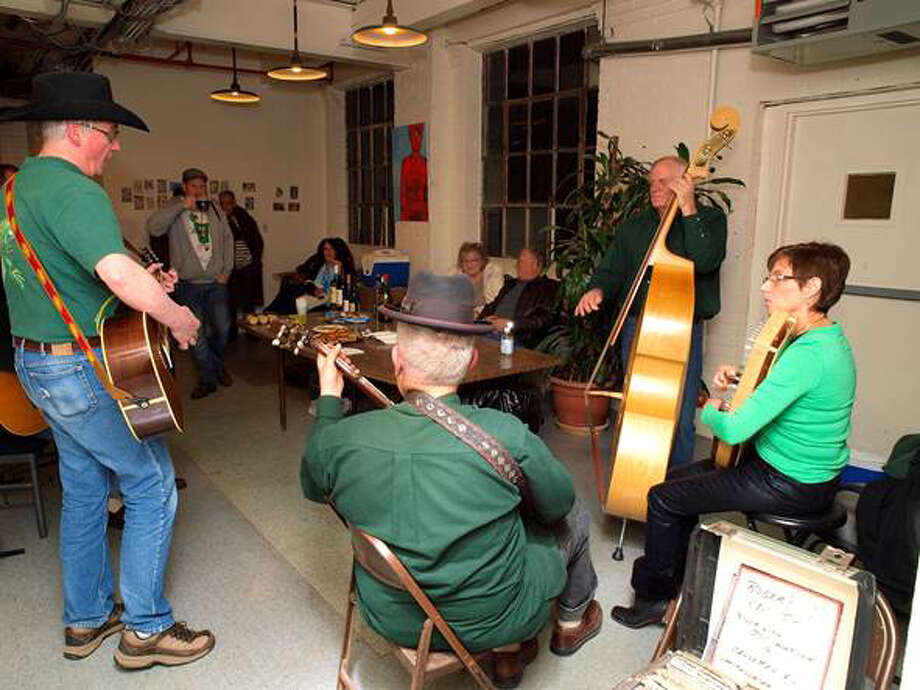 """The Nest Arts Factory in Bridgeport will hosts a bluegrass jam session during the opening reception of """"Solstice Summer Exhibition"""" on Friday, June 28. Photo: Contributed Photo"""