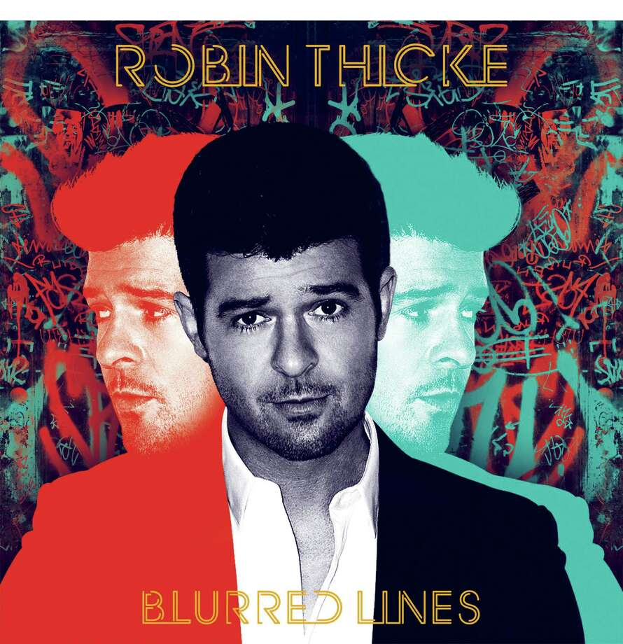 "Artists accused of copyright violationsRobin Thicke, Pharrell William's ""Blurred Lines (2013) vs. Marvin Gaye's ""Got to Give it Up"" (1977) A jury decided this week that singers Robin Thicke and Pharrell Williams should pay the Marvin Gaye estate $7.4 million after determining the pair copying the soul legend's work.  Photo: HO / INTERSCOPE RECORDS"
