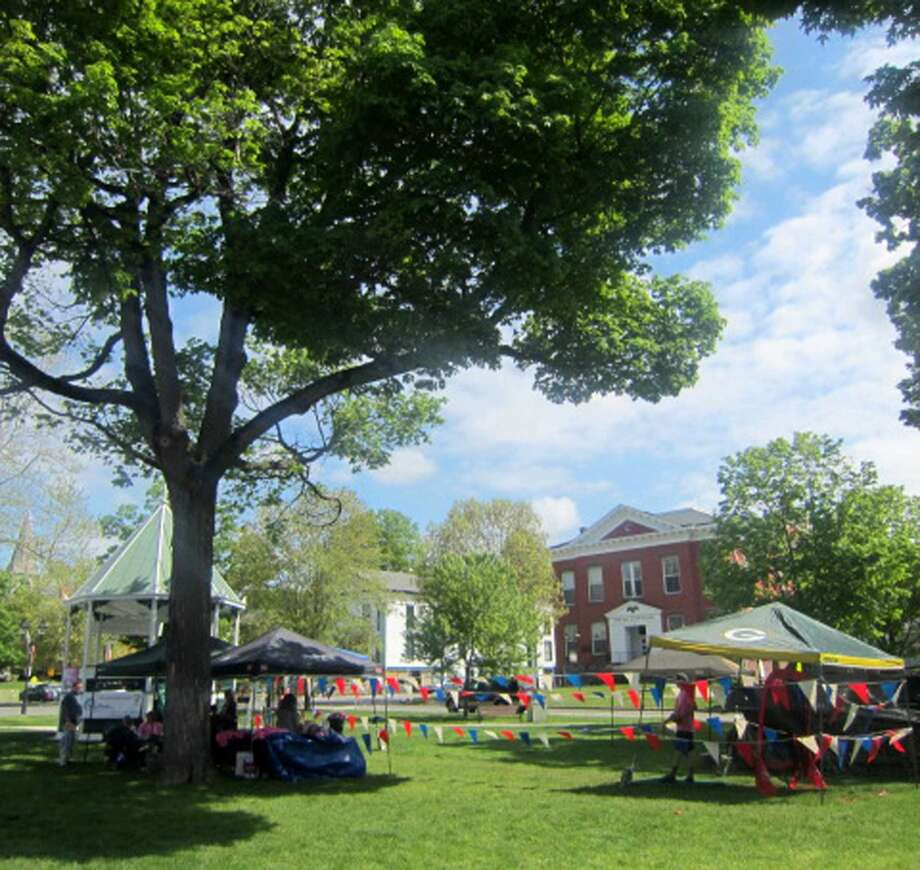 New Milford's Village Green.