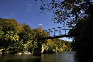 Lovers Leap State Park in New Milford.