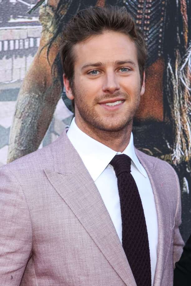 "ANAHEIM, CA - JUNE 22:  Actor Armie Hammer attends the premiere Of Walt Disney Pictures' ""The Lone Ranger"" at Disney California Adventure Park on June 22, 2013 in Anaheim, California.  (Photo by Paul A. Hebert/Getty Images)"