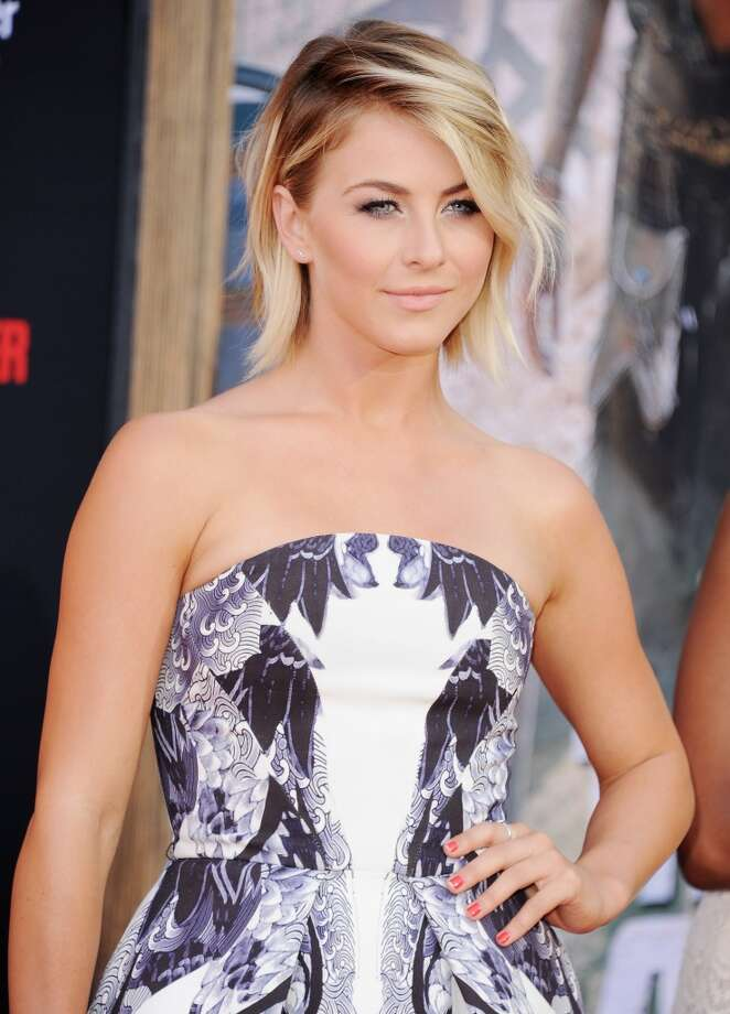 "ANAHEIM, CA - JUNE 22:  Actress Julianne Hough arrives at the Los Angeles premiere ""The Lone Ranger"" at Disney California Adventure Park on June 22, 2013 in Anaheim, California.  (Photo by Jon Kopaloff/FilmMagic)"