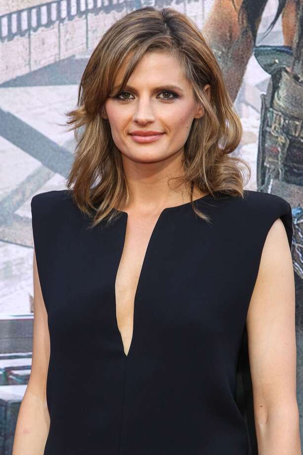 "ANAHEIM, CA - JUNE 22:  Actress Stana Katic attends the premiere Of Walt Disney Pictures' ""The Lone Ranger"" at Disney California Adventure Park on June 22, 2013 in Anaheim, California.  (Photo by Paul A. Hebert/Getty Images)"