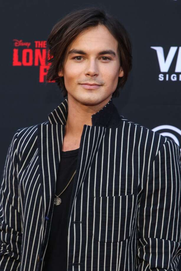 "ANAHEIM, CA - JUNE 22:  Actor Tyler Blackburn attends the premiere Of Walt Disney Pictures' ""The Lone Ranger"" at Disney California Adventure Park on June 22, 2013 in Anaheim, California.  (Photo by Paul A. Hebert/Getty Images)"