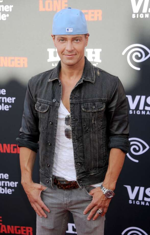 "ANAHEIM, CA - JUNE 22: Actor Joey Lawrence arrives at ""The Lone Ranger"" World Premiere at Disney's California Adventure on June 22, 2013 in Anaheim, California.  (Photo by Gregg DeGuire/WireImage)"