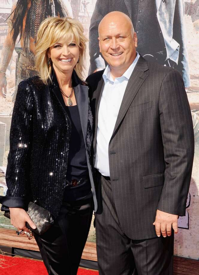 "ANAHEIM, CA - JUNE 22:  Professional baseball player Cal Ripken Jr. and wife Kelly Ripken arrive at the Los Angeles premiere ""The Lone Ranger"" at Disney California Adventure Park on June 22, 2013 in Anaheim, California.  (Photo by Jon Kopaloff/FilmMagic)"