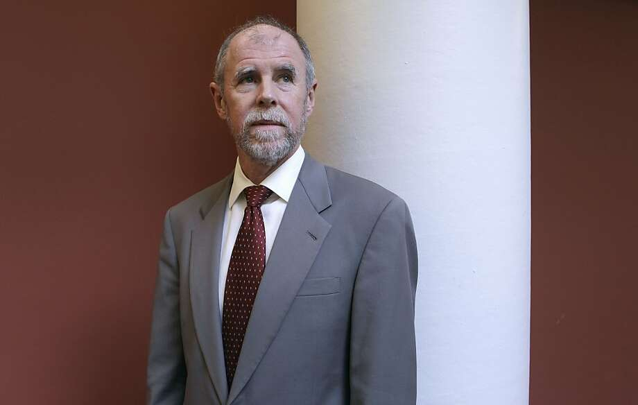 Frank Lindh: off the case. Photo: Jeff Chiu, ASSOCIATED PRESS