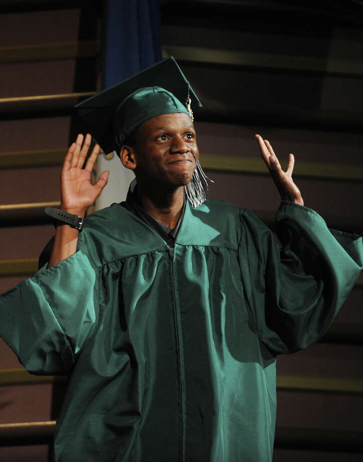 Tyrell Carter. Bassick High School graduation at the Klein Memorial Auditorium in Bridgeport, Conn. on Monday, June 24, 2013. Photo: Brian A. Pounds / Connecticut Post