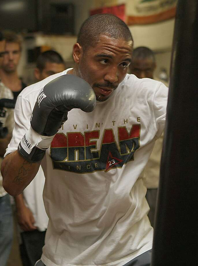 Oakland boxer Andre Ward has not fought in more than nine months. Photo: Liz Hafalia, The Chronicle