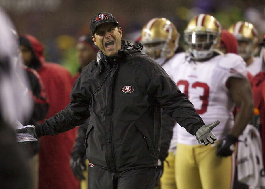 Relish in the 49ers rivalryThe Seahawks-49ers rivalry is developing into the best in the NFL, and this offseason has seen plenty of drama. San Francisco head coach Jim Harbaugh started it off by commenting on the Seahawks' apparent problem with performance-enhancing drugs, and a couple Seahawks have shot back. Just wait until that Sept. 15 game at the CLink!  Photo: Stephen Brashear, Getty Images / 2012 Getty Images