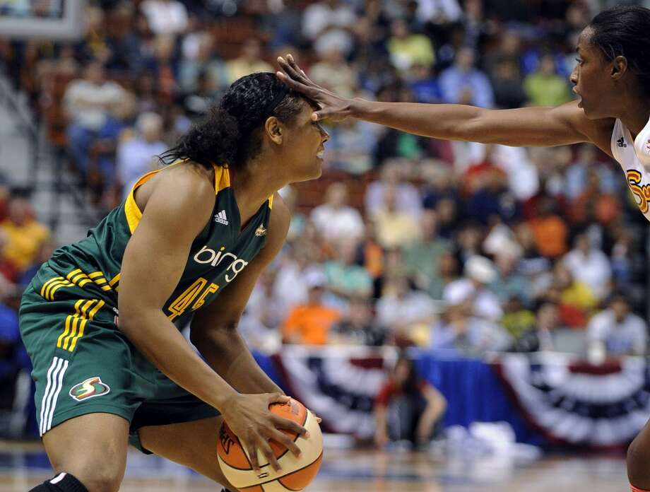 Go see the Storm  Miss basketball at KeyArena? Well, y'know it's still there, right? The WNBA's Storm started their season not long ago, and are fighting for greatness without their stars Sue Bird or Lauren Jackson. Check 'em out for some family-friendly fun.