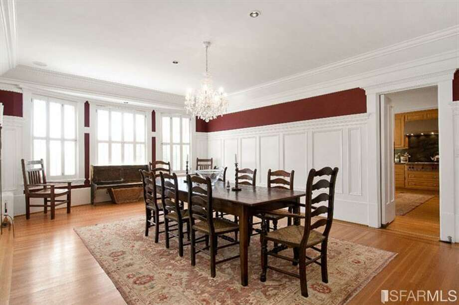 Dining room. Photos via Diana Koll, Hill & Co/Redfin/MLS