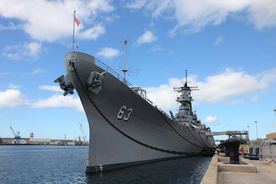 When the USS Missouri arrived in Pearl Harbor on June 22, 1998, it was 'rusting badly, its teak decks in disrepair, and in need of extensive cleaning and polishing inside and out and top to bottom,' according to the nonprofit organization that got it ready for public tours within seven months.