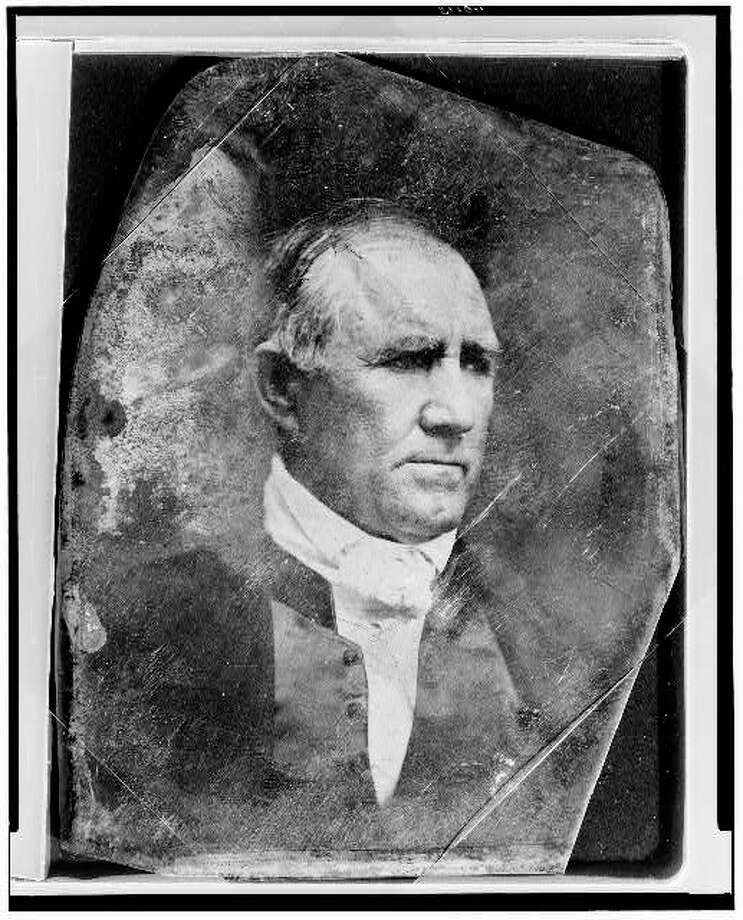 Sam Houston1844 - Samuel Houston: After leading the Texas Army to victory of the Mexicans and becoming the first president of Texas, Houston became a tireless advocate for annexation by the United States.
