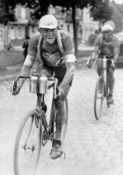 1930: French racing cyclist Antonin Magne (1904-1983), competing in the Tour de France. Photo: Roger Viollet, Roger Viollet/Getty Images / 2007 Roger Viollet