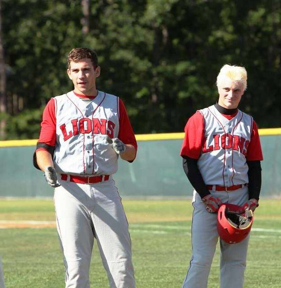 Ethan Franklin, left, and Austin Marshall are Kountze baseball players that will be at the Texas Rangers Area Code tryouts. If they make the team, they will play in the 2013 New Balance Games in Long Beach, Calif from August 5-10 Photo: Courtesy Of