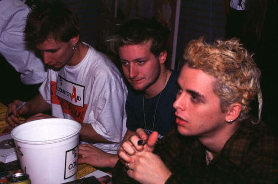 "Green Day ""Dookie""-The year Green Day and punk broke (again). ""Dookie"" was a huge alternative rock smash."