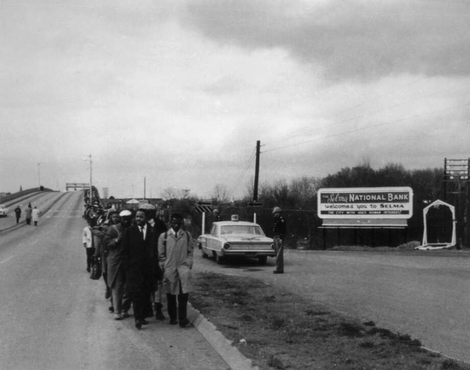 Selma demonstration in Montgomery for the civil rights, 1965, United States, New York, Schomburg Center. Photo: UniversalImagesGroup, UIG Via Getty Images / Universal Images Group Editorial