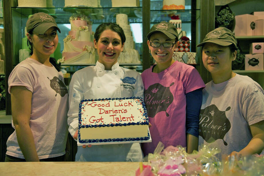 "Palmer's Market of Darien is one of the sponsors of ""Darien's Got Talent"" and will cater a pre-event reception on Saturday, June 29. From left, Patricia Conte, Megan Palmer Rivera, Lindsay Colasurdo and Jaimie Faerman. Photo: Contributed"