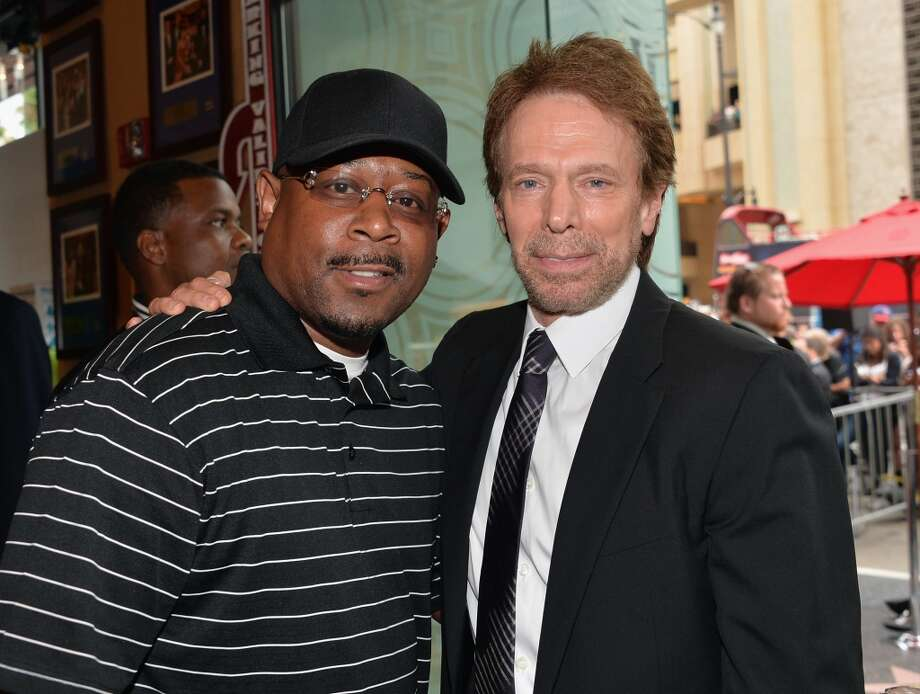 HOLLYWOOD, CA - JUNE 24:  Actor Martin Lawerence and producer Jerry Bruckheimer attend Legendary Producer Jerry Bruckheimer Hollywood Walk of Fame Star Ceremony on the Hollywood Walk of Fame on June 24, 2012 in Hollywood, California.  (Photo by Alberto E. Rodriguez/WireImage)