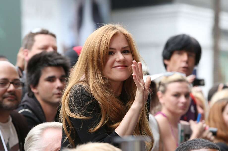 HOLLYWOOD, CA - JUNE 24:  Isla Fisher attends the ceremony honoring Jerry Bruckheimer with a Star on The Hollywood Walk of Fame held in front of El Capitan Theatre on June 24, 2013 in Hollywood, California.  (Photo by Jonathan Leibson/WireImage)