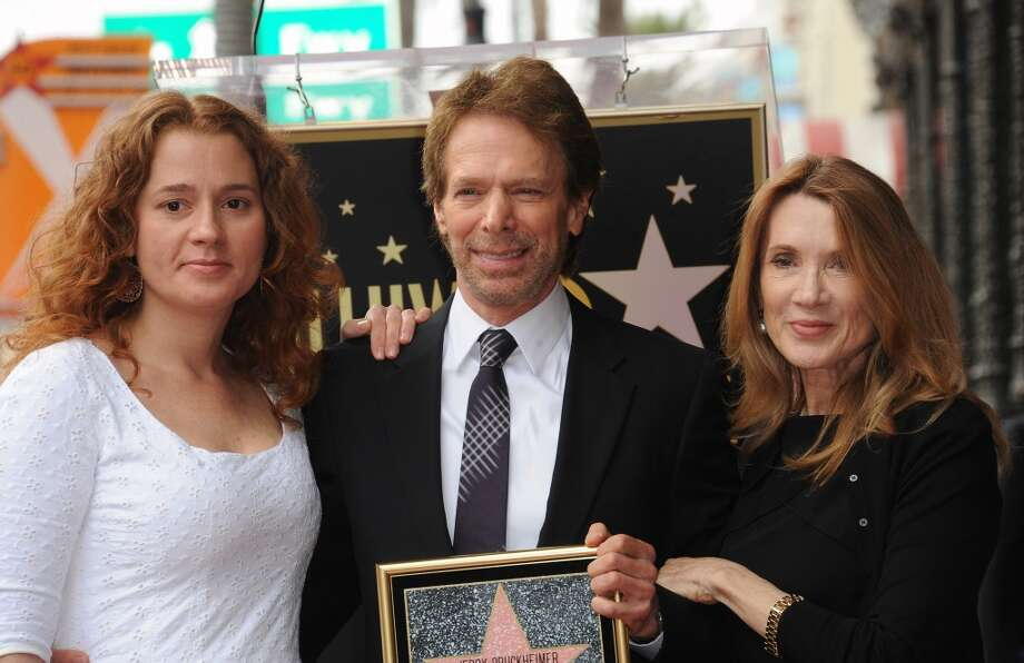 HOLLYWOOD, CA - JUNE 24:  Producer Jerry Bruckheimer, stepdaughter Alexandria Balahoutis and wife  Linda Bruckheimer attend the Jerry Bruckheimer Star On The Hollywood Walk Of Fame on June 24, 2013 in Hollywood, California.  (Photo by Albert L. Ortega/Getty Images)