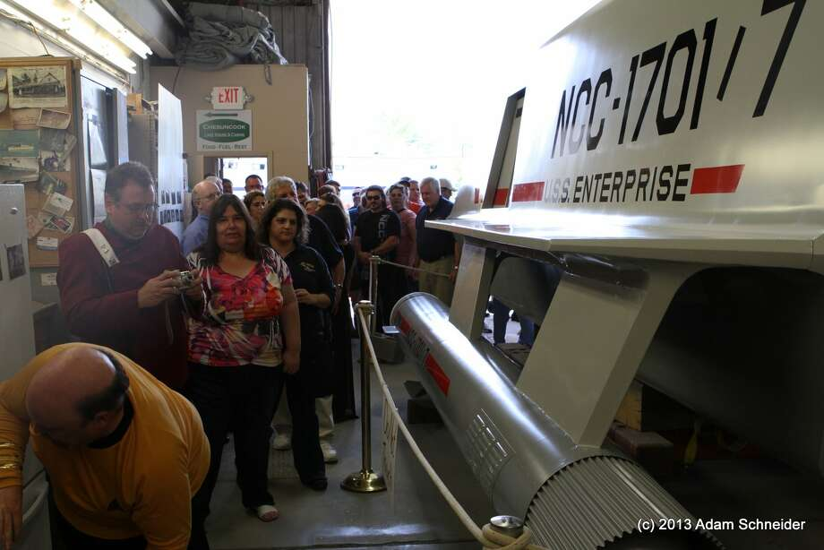 A 1967 episode of Star Trek featured the space ship Galileo. The prop was later purchased by fans of the series and restored. It is pictured June 22, 2013. (Photos submitted by Adam Schneider )