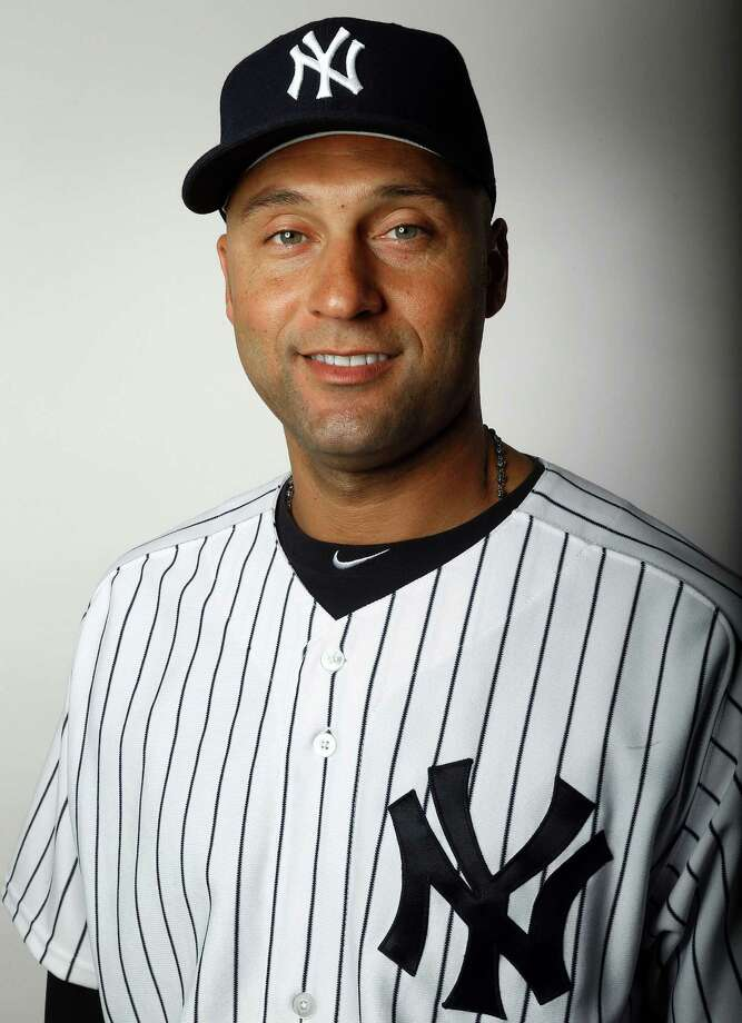 TAMPA, FL - FEBRUARY 20:  Derek Jeter #2 of the New York Yankees poses for a portrait on February 20, 2013 at George Steinbrenner Stadium in Tampa, Florida.  (Photo by Elsa/Getty Images) Photo: Elsa / 2013 Getty Images