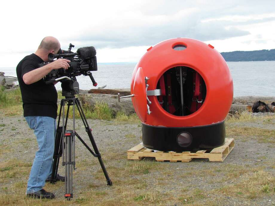 The Survival Capsule being developed and sold by the Mukilteo company of the same name. Photo: Courtesy Of Survival Capsule