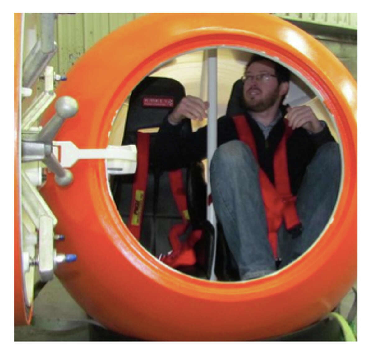 The Survival Capsule being developed and sold by the Mukilteo company of the same name.