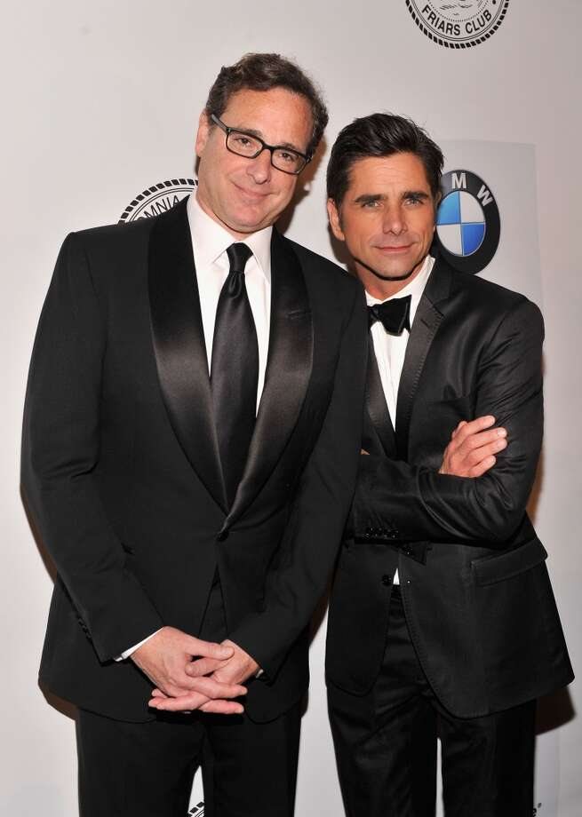 NEW YORK, NY - JUNE 24:  Bob Saget and John Stamos attend The Friars Foundation Annual Applause Award Gala honoring Don Rickles at The Waldorf=Astoria on June 24, 2013 in New York City.  (Photo by Stephen Lovekin/Getty Images)