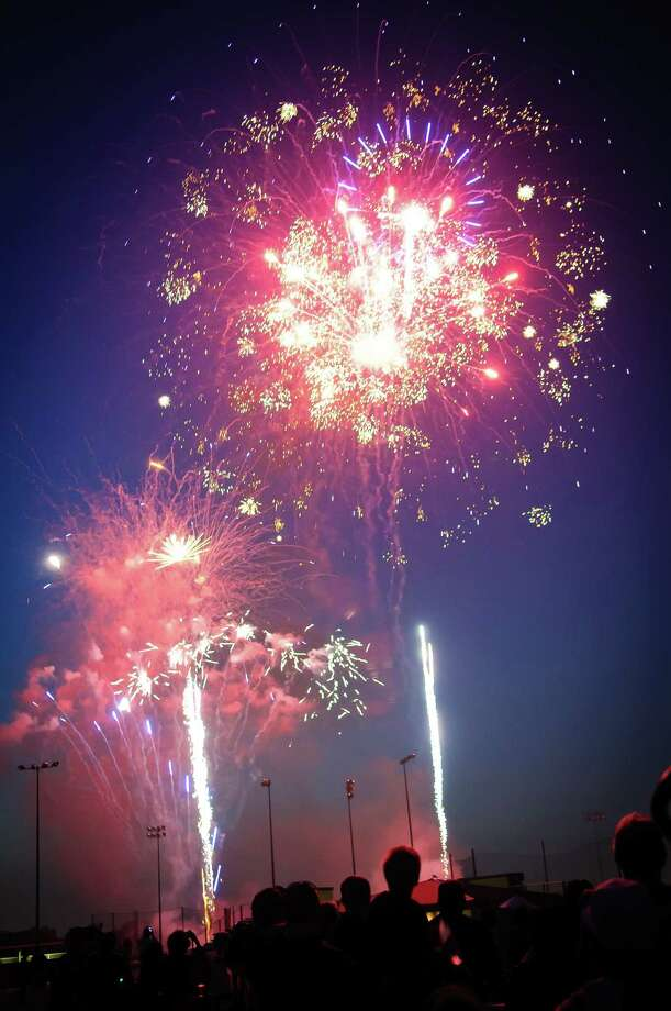 Pearland Celebration of FreedomWhat: A VFW military salute kicks off the event, followed by a performance by The Slags before the fireworks begin.When: 6-10 p.m. Monday; fireworks at 9 p.m.  Where: Pearland High School football stadium, 3775 S. Main Admission: FREEDetails: Buy food or bring your own. Don't bring alcohol, glass containers, pets or tobacco. For more information, visit pearlandtx.gov. Photo: Kim Christensen, Freelance / ©Kim Christensen