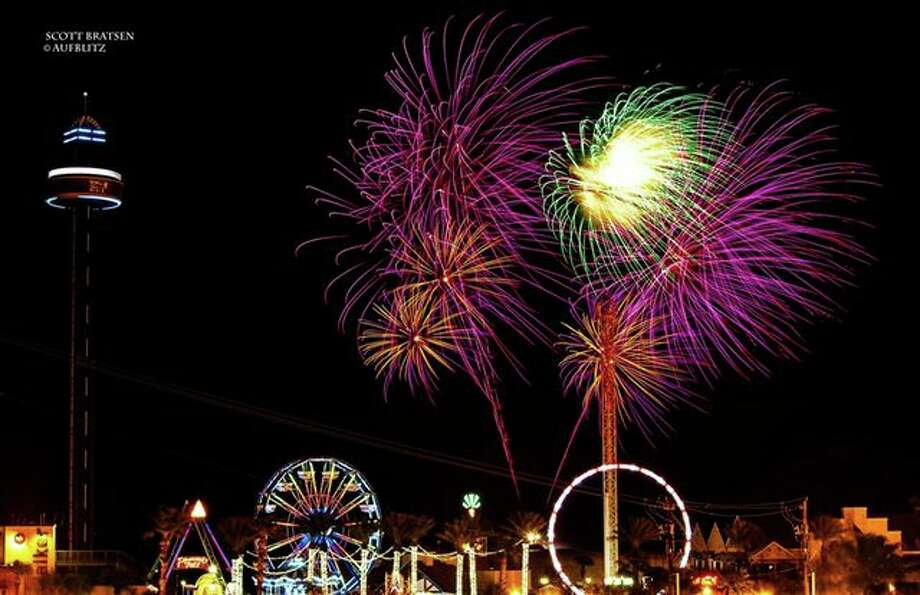 A fireworks show will conclude Fourth of July activities in Kemah.